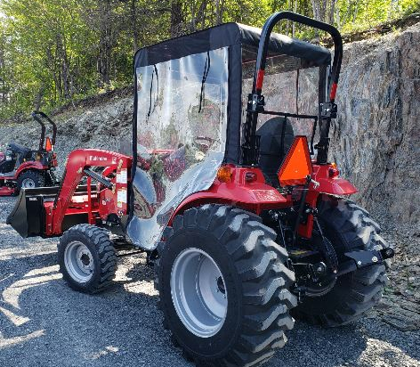 """40"""" Winter cab for compact tractors"""