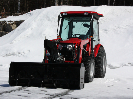 """66″ Vantage Snowblower for tractors equipped with """"Skid Steer"""" style attach"""