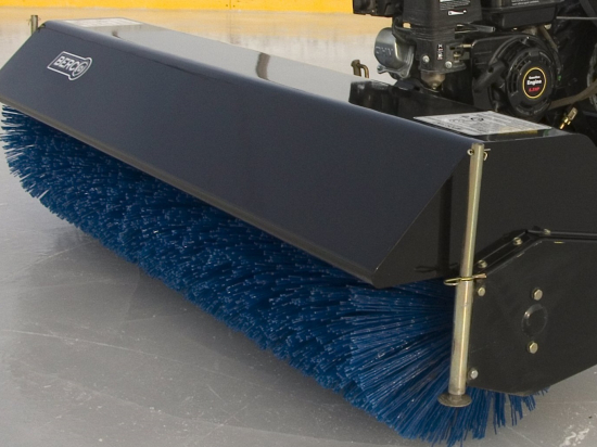 """60"""" Rotary Broom for tractors equipped with ''Skid Steer'' style attach"""