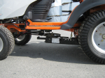 "30"" Rotary Tiller for Lawn and Garden Tractors"