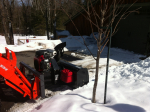 "54"" Versatile Plus Snowblower for tractors equipped with ""Skid Steer"" style attach"