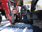 """72″ Vantage Snowblower for tractors equipped with """"Skid Steer"""" style attach"""