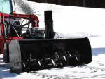 "66″ Vantage Snowblower for tractors equipped with ""Skid Steer"" style attach"