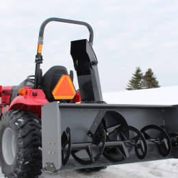 "72"" 3 Point Hitch Economical Berco Snowblower"
