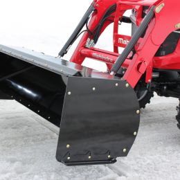 "Light Duty Snow Push for tractors equipped with ""Skid Steer"" style attach"