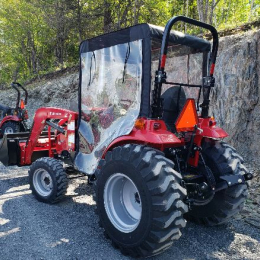 "40"" Winter cab for compact tractors"