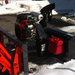 "54"" Premium Snowblower for tractors equipped with ""Skid Steer"" style attach"