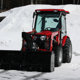 "72″ Vantage Snowblower for tractors equipped with ""Skid Steer"" style attach"