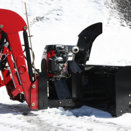 "48"" Versatile Plus Snowblower for tractors equipped with ""Skid Steer"" style attach"