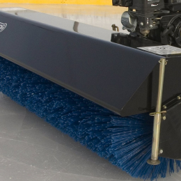 "60"" Rotary Broom for tractors equipped with ''Skid Steer'' style attach"