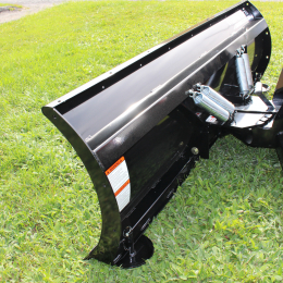 "Residential type Snow Blade for tractors equipped with ""Skid Steer"" style attach"